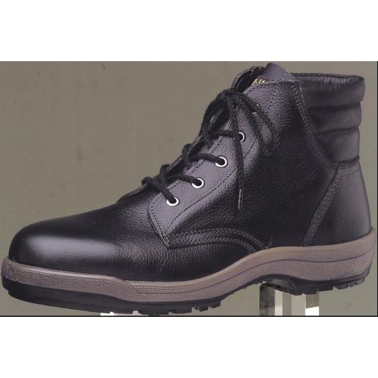 【送料無料♪】寒冷地用耐滑安全靴 ブラック サイズ:25cm (安全用品・標識/消防・防災・防犯標識/防寒対策用品/身に付ける防寒対策用品)
