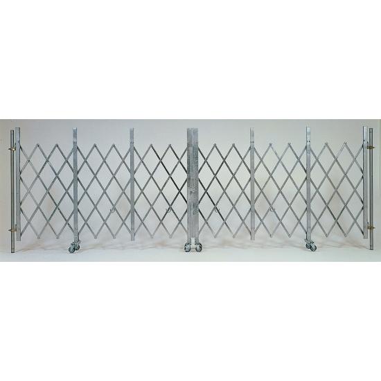 【送料無料♪】ライトゲートクロス (仮設用ゲート) 仕様:片開き 2×5.4m (安全用品・標識/保安用品/フェンス・フェンス用品)