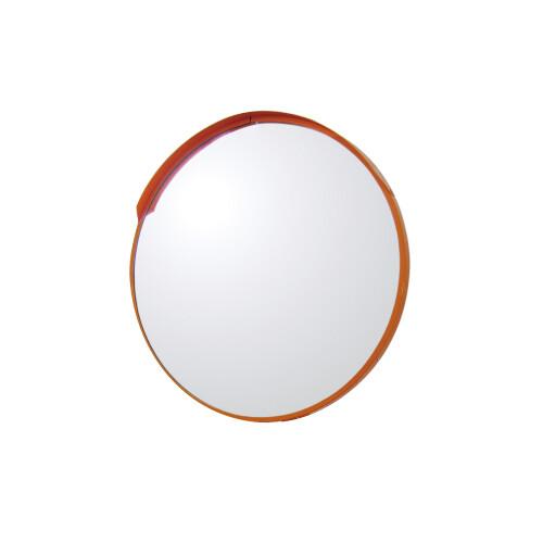 【送料無料♪】道路設置用カーブミラー アクリル製一面鏡 ミラーのみ ミラーサイズ:φ600mm (安全用品・標識/保安用品)