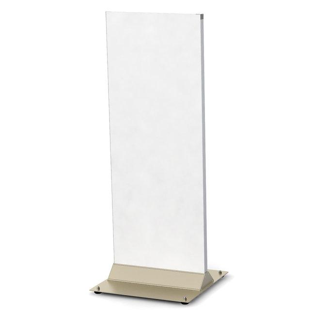 【送料無料♪】タワーサイン ポップス ホワイト面板 F-4512S(スタンド看板/屋外用スタンド看板/T型看板)