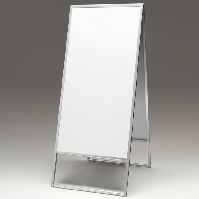 アルミ枠A型スタンド 299 450×900(スタンド看板/A型看板/板面貼込み式(屋外OK))