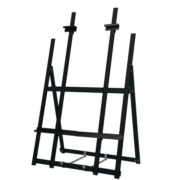ウェイタブル アルミイーゼル ワイド ブラック(スタンド看板/アルミ(鉄)イーゼル)