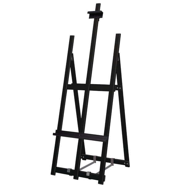 ウェイタブル アルミイーゼル ブラック(スタンド看板/アルミ(鉄)イーゼル)