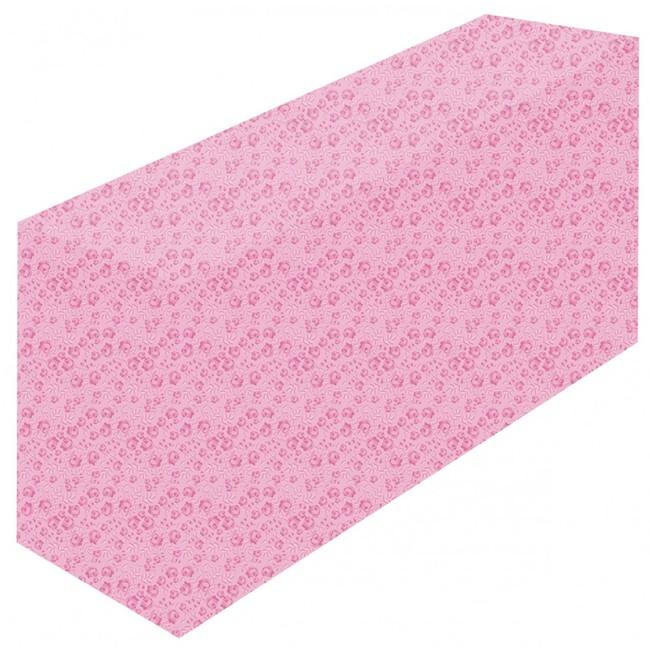 テーブルカバー 花柄ピンク サイズ:W1800×H700×D600 (イベント用品/説明会・商談会用品)