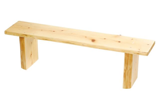 無垢な台 高 (W55610) (ビュッフェ/サラダボウル・木製皿)