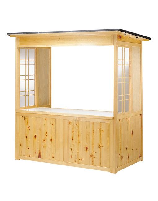 【送料無料♪】屋外用販売屋台 EY-1800S (W55300) (店舗什器・店舗備品/屋台風販売台・ディスプレイ什器)