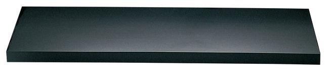 ディスプレイプレート (黒) [W56730](店舗什器・店舗備品/屋台風販売台・ディスプレイ什器)