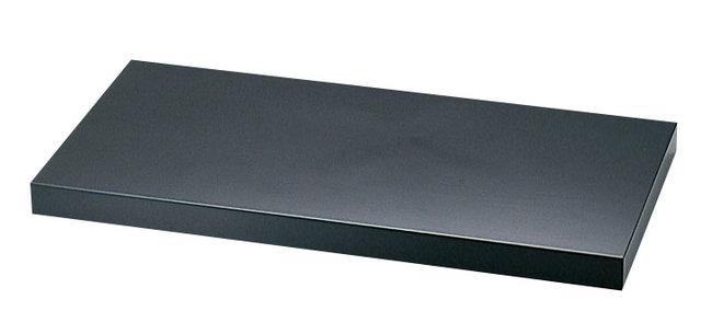 ディスプレイプレート (黒) [W56740](店舗什器・店舗備品/屋台風販売台・ディスプレイ什器)
