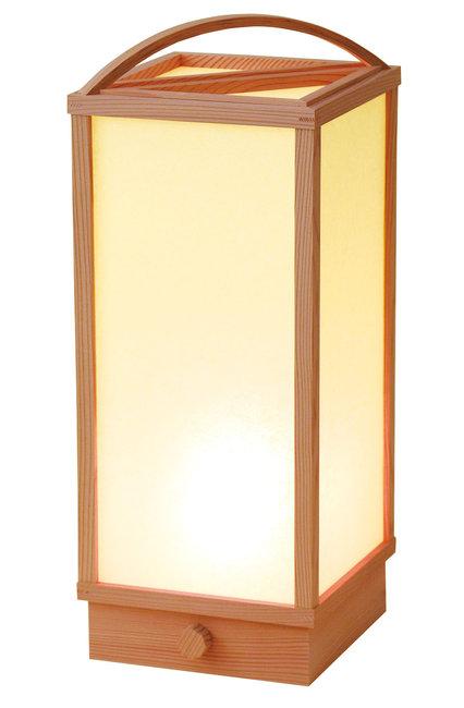 室内行灯 手付 (調光スイッチ付) [W50680](店舗什器・店舗備品)