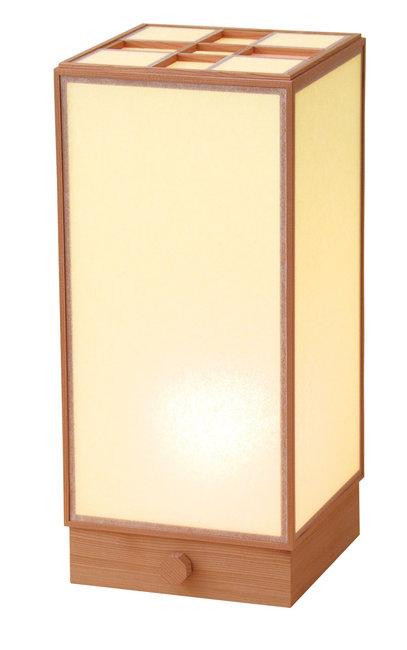 【送料無料♪】室内行灯 角 (調光スイッチ付) [W50681](店舗什器・店舗備品)