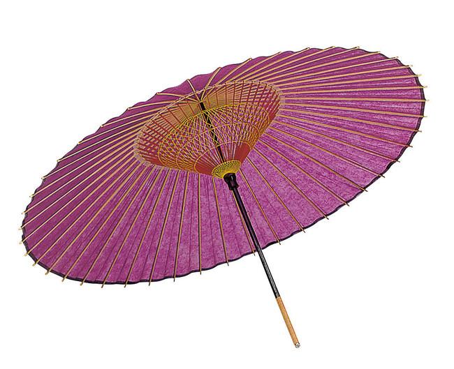 特選 蛇の目 紫 (輸入品) (W56391) (店舗什器・店舗備品/行灯)