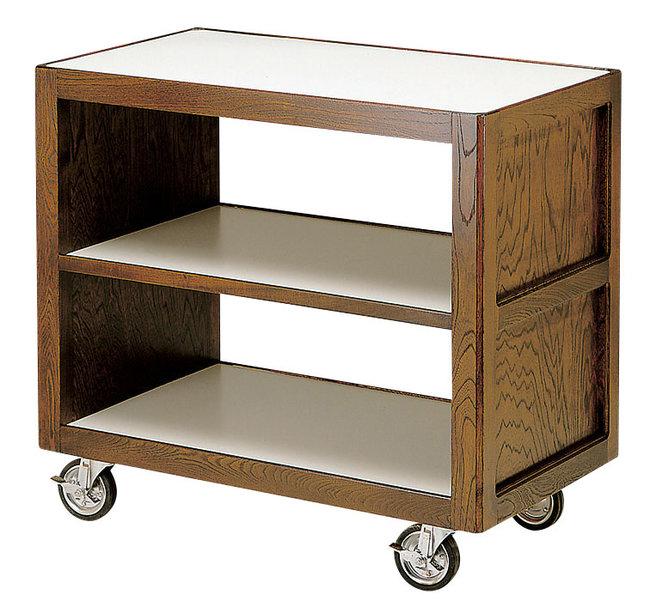 【送料無料♪】サイドテーブルワゴンA (W45305) (店舗什器・店舗備品/サービスワゴン)