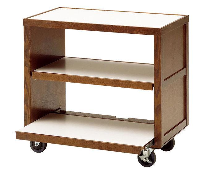 【送料無料♪】スライドテーブルワゴン (W45332) (店舗什器・店舗備品/サービスワゴン)