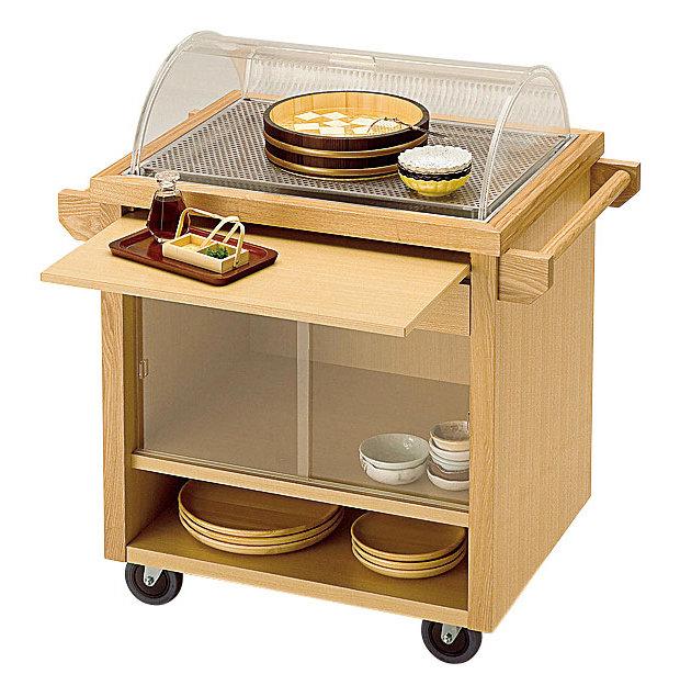 【送料無料♪】クールワゴン テーブルサービス仕様 (W45341) (店舗什器・店舗備品/サービスワゴン)