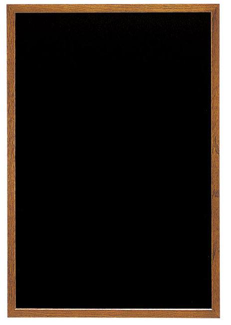 オークブラウン (L) ブラック (マーカータイプ) [W48291](スタンド看板・サイン/メッセージボード・イーゼルスタンド)