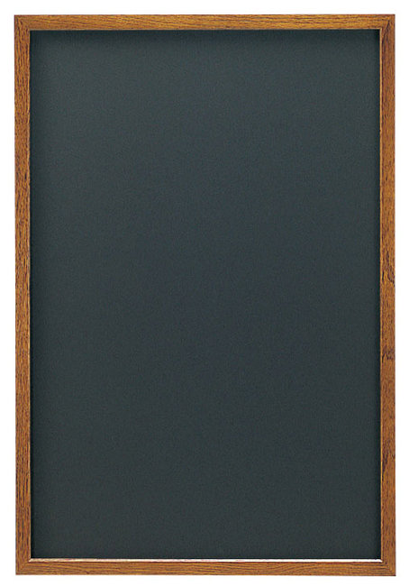 【送料無料♪】オークブラウン (L) ブラック (チョークタイプ) [W48297](スタンド看板・サイン/メッセージボード・イーゼルスタンド)