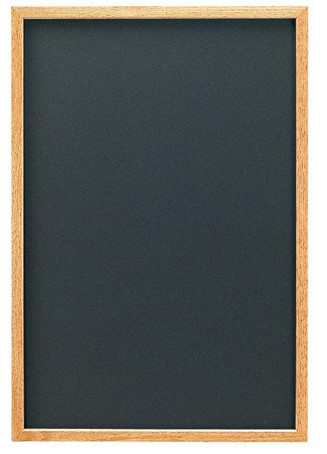オークナチュラル (L) ブラック (チョークタイプ) [W48298](スタンド看板・サイン/メッセージボード・イーゼルスタンド)