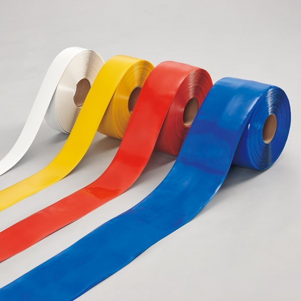 【送料無料♪】ラインプロ 50mm幅×30m カラー:赤 (各種テープ/ラインテープ・滑り止めテープ)