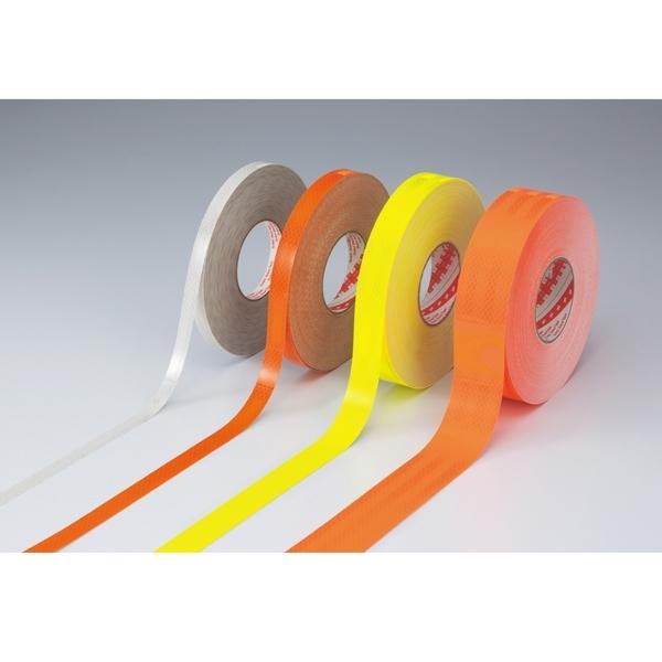【送料無料♪】高輝度反射テープ 50mm幅×45m カラー:オレンジ (各種テープ/蛍光テープ・反射テープ)