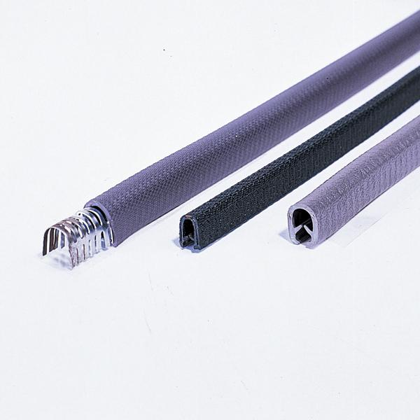 セーフティーガード(鉄板カット面用緩衝材) (L型) 15 ×11mm×20m カラー:ブルー (287014)(建設現場・工事現場用品/配線保護用プロテクター)
