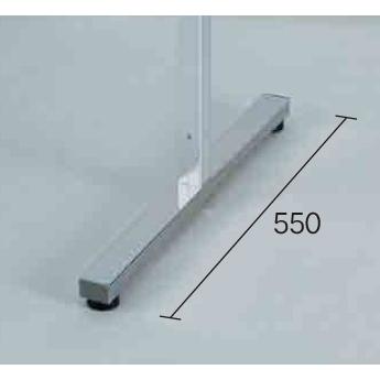 アルミポール32 二面用 アジャスター付 対応サイズ:H1800用 (スタンド看板/展示システム・パーテーション)
