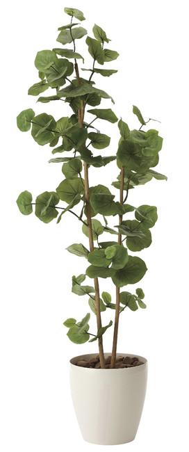 【送料無料】シーグレープ (人工観葉植物) 高さ160cm 光触媒 (616A280)(店舗用品/光触媒 人工観葉植物・造花・フェイクグリーン/フロア(鉢型)用/125~160cm)