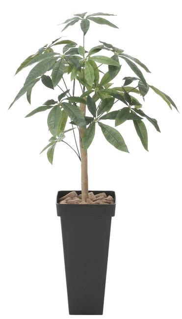 【送料無料】スリムパキラ (人工観葉植物) 高さ100cm 光触媒 (826A120)(店舗用品/光触媒 人工観葉植物・造花・フェイクグリーン/フロア(鉢型)用/125cm未満)