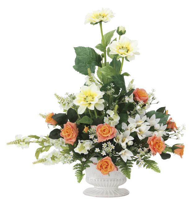 【送料無料】シュナーベル (壁掛タイプ) (造花) 高さ56cm 光触媒 (841A100)(店舗用品/光触媒 人工観葉植物・造花・フェイクグリーン/フロア(棚)向け)