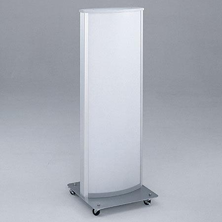 【送料無料♪】アルミ スタンドサイン ADO-800 シルバー 面板セット 50Hz(スタンド看板/電飾看板/蛍光灯タイプ/印刷シート差込式(交換OK))