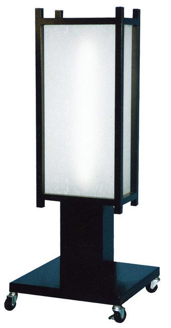 【送料無料♪】4面対応 クラシック和風電飾看板 (スタンド看板/和風タイプ)