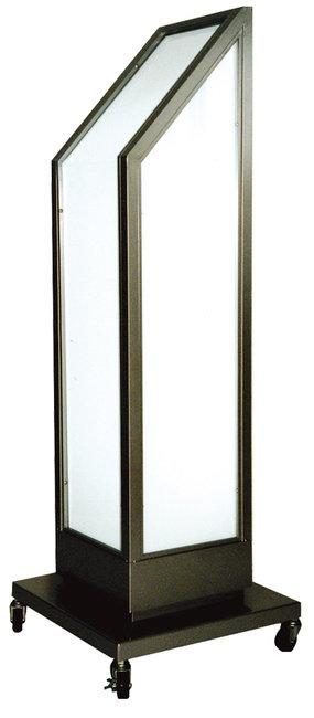 【送料無料♪】傾斜付き電飾スタンド看板 (電飾看板/和風タイプ)