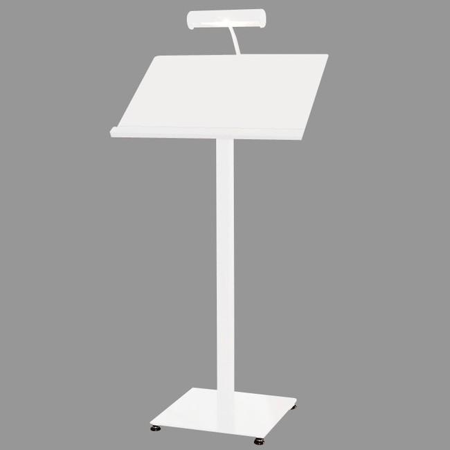 【送料無料♪】LEDメニューライトスタンド ML42 種別:ホワイト (スタンド看板/メニュースタンド看板/アルミ・スチール製)