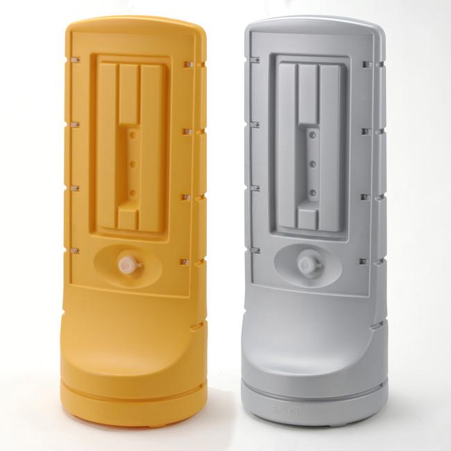 【送料無料♪】スタンドサイン120 本体のみ カラー:シルバー(安全用品・標識/バリケード看板・駐車場/駐車禁止/駐輪場/駐車場看板)
