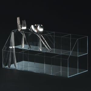 【送料無料♪】小物ボックス(長物用) 4列3段(店舗用品/演出・ディスプレイ什器/ステージ・ひな壇・アクリルディスプレイ)