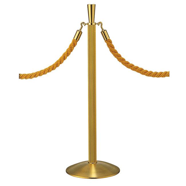 【送料無料♪】ロープパーティション GY20B-92F ゴールド(店舗用品/運営備品/ベルトパーティション/本体)