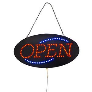 ベガスサイン OPEN 510×265(店舗用品/イルミネーションアイテム)