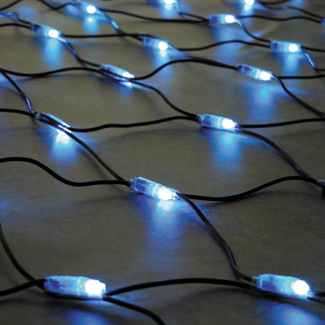 【送料無料♪】LEDネットライト LED-NET-S-B ブルー(店舗用品/イルミネーションアイテム)