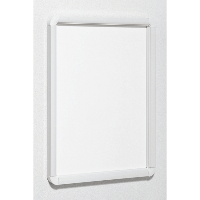 ポスターパネル333 A0 屋内用 4辺開きタテヨコ兼用 カラー:ホワイト (ポスターフレーム/A0サイズ)