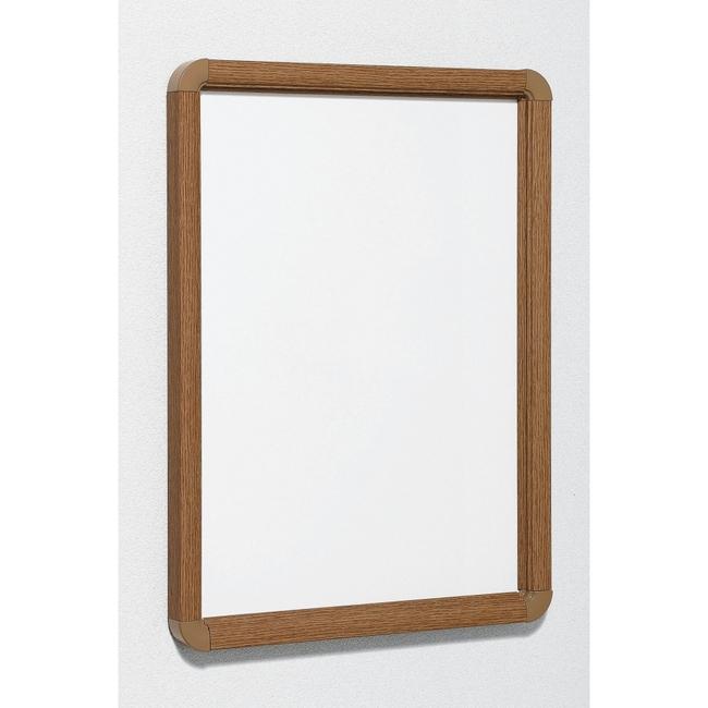 ポスターパネル333 A0 屋内用 4辺開きタテヨコ兼用 カラー:木目ナチュラル (ポスターフレーム/A0サイズ)