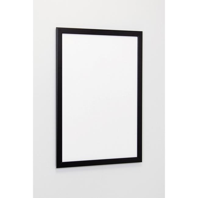 ポスターパネル334 B1 屋内用 4辺開きタテヨコ兼用 カラー:ブラック (ポスターフレーム/B1サイズ/前面開閉式(B1))
