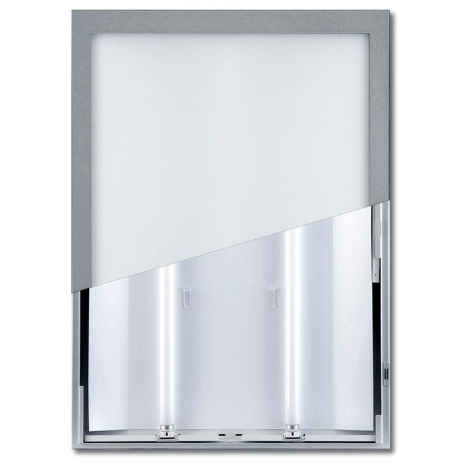 【送料無料♪】ユニライトパネル B1 シルバー屋内(ポスターフレーム/B1サイズ/LEDライティングタイプ(B1))
