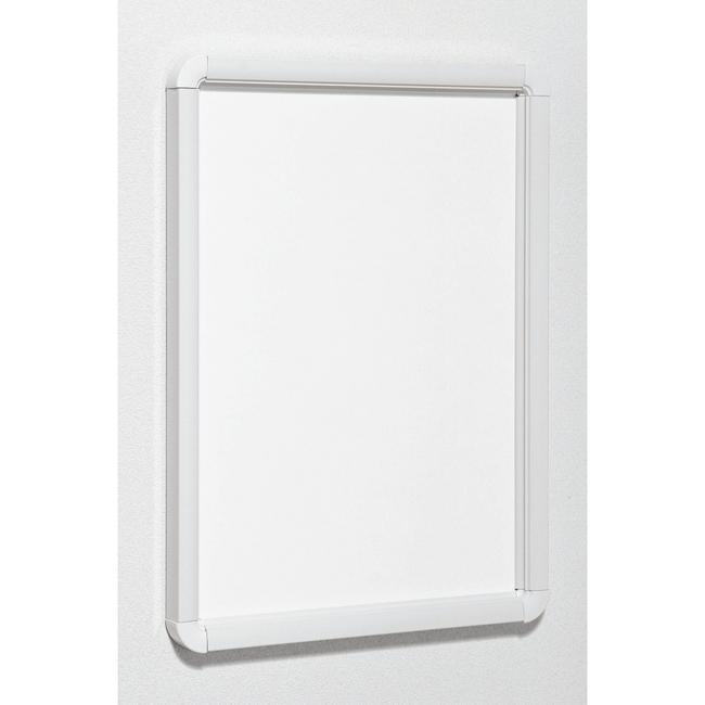 ポスターパネル333 A1 屋内用 4辺開きタテヨコ兼用 カラー:ホワイト (ポスターフレーム/A1サイズ/前面開閉式(A1))