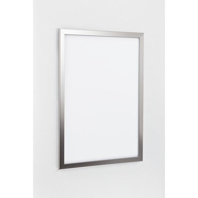 ポスターパネル334 A1 屋内用 4辺開きタテヨコ兼用 カラー:ステン (ポスターフレーム/A1サイズ/前面開閉式(A1))