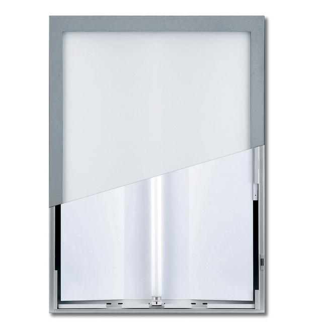 【送料無料♪】ユニライトパネル B2 シルバー屋内(ポスターフレーム/B2サイズ/LEDライティングタイプ(B2))