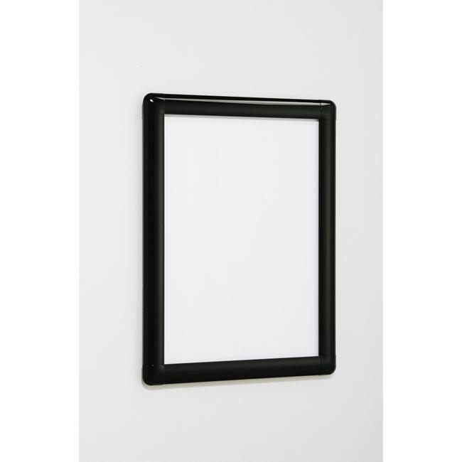 【送料無料♪】ポスターパネル338 B0 屋内用 4辺開きタテヨコ兼用 カラー:ブラック (ポスターフレーム/B0サイズ)