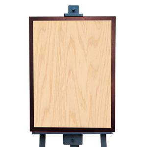 マジカルボード 木目 (ライト) L(販促POP/メッセージボード/ブラックボード(マーカータイプ))