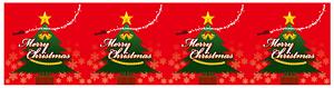 ロール幕 Merry Christmas H600×W10200mm(販促POP/店内ポップ)