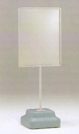 【送料無料】標識600×450mm用スタンド 868-30A 1台(安全用品・標識/廃棄物分別標識/各種スタンド)