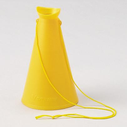 手軽に使える プラスチックメガホン 安全用品 標識 おトク 消防 防災用品 防災標識 防災 防犯標識 『4年保証』
