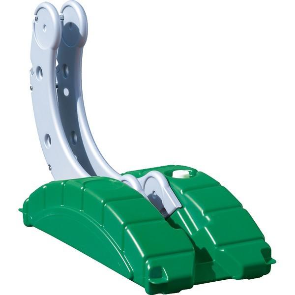 【送料無料♪】駐輪用 サイクルステージ ロータイプ カラー:緑 (安全用品・標識/消防・防災・防犯標識/防犯用品)